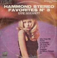 Gramofonska ploča Ernie Bouckaert Hammond Stereo Favorites N°3 LPSV-RCA 70429, stanje ploče je 10/10