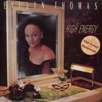 Gramofonska ploča Evelyn Thomas High Energy 206 554, stanje ploče je 8/10