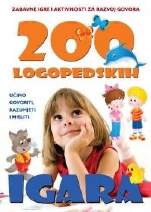 200 logopedskih igara Ilona Poskhova meki uvez