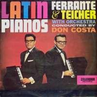Gramofonska ploča Ferrante & Teicher Latin Pianos SR66-9864, stanje ploče je 7/10