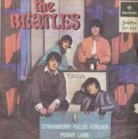 Gramofonska ploča Beatles Strawberry Fields Forever / Penny Lane EPP 9159, stanje ploče je 7/10