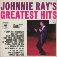 Gramofonska ploča Johnnie Ray Johnnie Ray's Greatest Hits CBS 52317, stanje ploče je 10/10