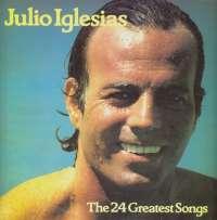 Gramofonska ploča Julio Iglesias 24 Greatest Songs CBS 88469, stanje ploče je 10/10
