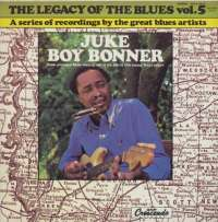 Gramofonska ploča Juke Boy Bonner Legacy Of The Blues Vol. 5 PSJ 204, stanje ploče je 10/10