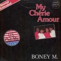 Gramofonska ploča Boney M. My Chérie Amour (U.S. Club-Mix - Special Extended) 601 686-213, stanje ploče je 7/10