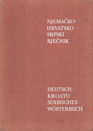 Antun Hurm - Njemačko hrvatskosrpski rječnik s gramatičkim podacima i frazeologijom *