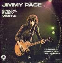 Gramofonska ploča Jimmy Page Special Early Works Featuring Sonny Boy Williamson SPB 4038, stanje ploče je 9/10