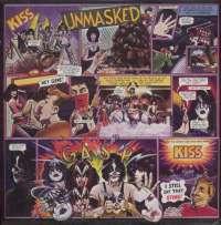 Gramofonska ploča Kiss Unmasked LL 0662, stanje ploče je 8/10
