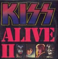 Gramofonska ploča Kiss Alive II NB 7027, stanje ploče je 8/10
