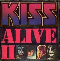 Gramofonska ploča Kiss Alive II 6685 043, stanje ploče je 9/10