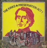Gramofonska ploča Kinks Preservation Act 1 SF 8392, stanje ploče je 8/10