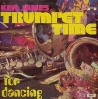 Gramofonska ploča Ken James Trumpet Time For Dancing PMR 3500, stanje ploče je 8/10