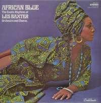 Gramofonska ploča Les Baxter Orchestra And Chorus African Blue LPL 745, stanje ploče je 10/10