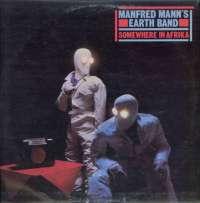 Gramofonska ploča Manfred Mann's Earth Band Somewhere In Afrika LSBRO 11020, stanje ploče je 9/10