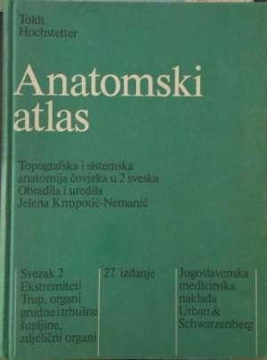 Anatomski atlas Toldt/Hochstetter tvrdi uvez