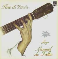 Gramofonska ploča Paco De Lucía Plays Manuel De Falla LP 55-5951, stanje ploče je 10/10