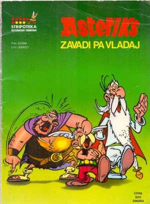 Asteriks zavadi pa vladaj Goscinny /piše, Uderzo / Crta meki uvez