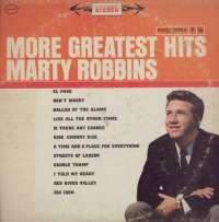 Gramofonska ploča Marty Robbins More Greatest Hits CS 8435, stanje ploče je 8/10