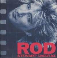 Gramofonska ploča Rod Stewart Camouflage WB 925 095-1, stanje ploče je 10/10