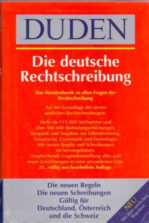 Duden - die deutsche rechtschreibung S.a. tvrdi uvez