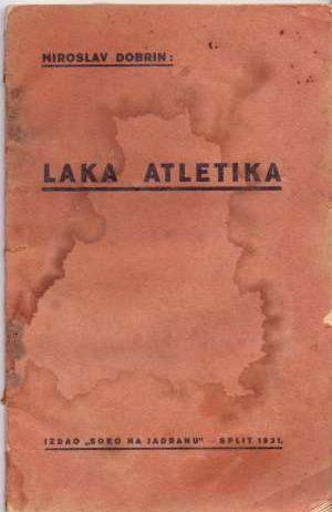 Miroslav Dobrin - Laka atletika