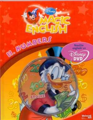 Isabelle Demolin/uredila - Magic english - 11. numbers (knjiga + dvd)*
