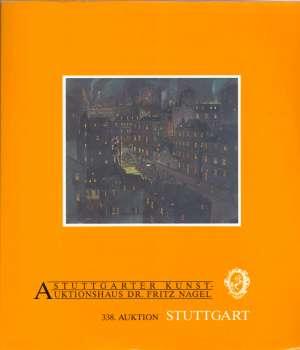 Stuttgarter kunstauktionshaus dr. Fritz Nagel - 338. Kunst-und teppichauktion S.a. meki uvez