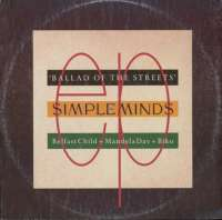 Gramofonska ploča Simple Minds Ballad Of The Streets MXSVIRG 18016, stanje ploče je 10/10
