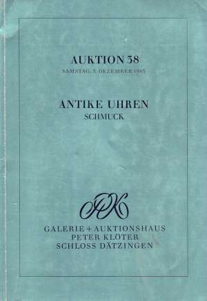 G.a. - Antike uhren - Auktion 38