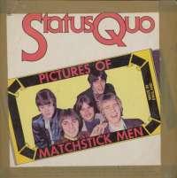 Gramofonska ploča Status Quo Pictures Of Matchstick Men HMA 257, stanje ploče je 7/10