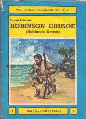 Biblioteka dvojezičkih tekstova - robinson crusoe (robinson kruso) Daniel Defoe meki uvez