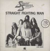 Gramofonska ploča Straight Shooter Straight Fighting Man sky SSS 107, stanje ploče je 8/10