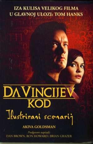 Da Vincijev kod - ilustrirani scenarij Akiva Goldsman meki uvez