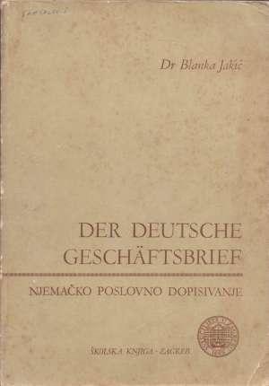 Blanka Jakić - Der deutsche Geschafrsbrief