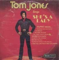 Gramofonska ploča Tom Jones Tom Jones Sings She's A Lady LPSV-DC 70427, stanje ploče je 9/10