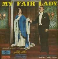 Gramofonska ploča Frederick Loewe My Fair Lady - Highlight LPX 6556, stanje ploče je 9/10