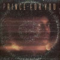 Gramofonska ploča Prince For You BSK 3150, stanje ploče je 9/10