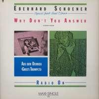 Gramofonska ploča Eberhard Schoener Why Don't You Answer 601 593-213, stanje ploče je 10/10