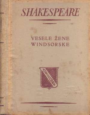 Vesele žene Windsorske Shakespeare William tvrdi uvez