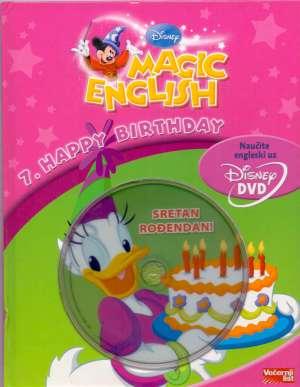 Isabelle Demolin/uredila - Magic english - 7.happy birthday(knjiga + dvd)*