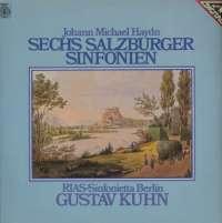 Gramofonska ploča Johann Michael Haydn / RIAS-Sinfonietta Berlin / Gustav Kuhn Sechs Salzburger Sinfonien 29 514 7, stanje ploče je 10/10