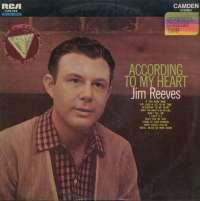 Gramofonska ploča Jim Reeves According To My Heart CAS 583, stanje ploče je 9/10
