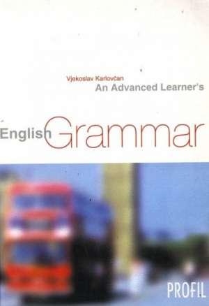 An advanced learners english grammar* Vjekoslav Karlovčan meki uvez