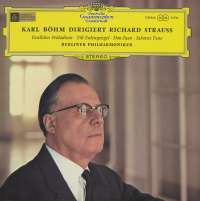 Gramofonska ploča Richard Strauss - Berliner Philharmoniker - Karl Böhm Festliches Präludium - Till Eulenspiegel - Don Juan - Salomes Tanz STV 213510, stanje ploče je 10/10