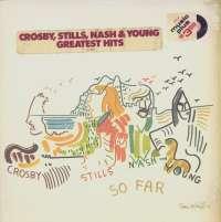 Gramofonska ploča Crosby, Stills, Nash & Young So Far SD 18100, stanje ploče je 8/10