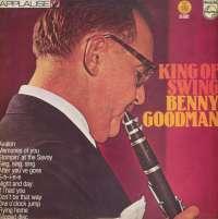 Gramofonska ploča Benny Goodman King Of Swing LP 4353, stanje ploče je 7/10