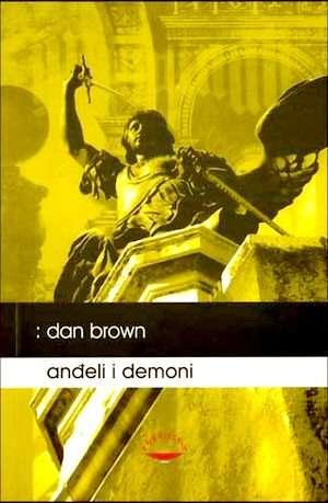 Anđeli i demoni Brown Dan tvrdi uvez