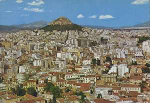 Europa - Atena - Partial View of Athens