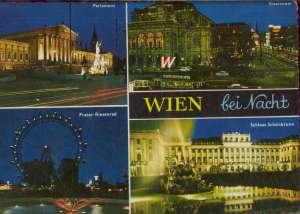 Europa - Beč po noći