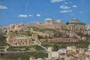Europa - Atena - Pogled na Akropolis